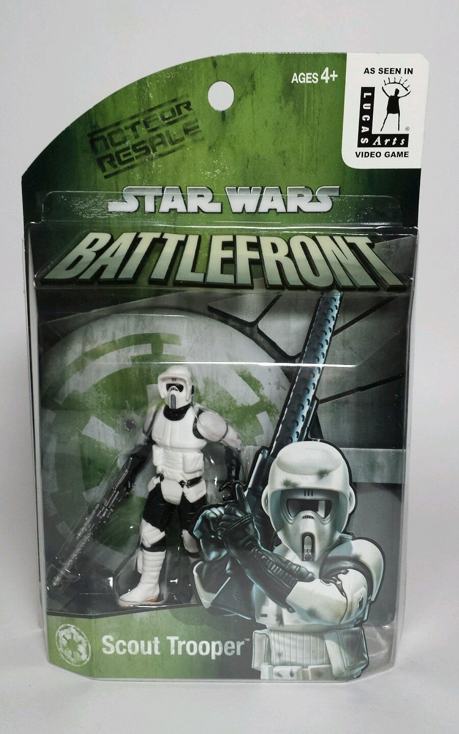 Star Wars Toy Game : Star wars battlefront game exclusive scout trooper